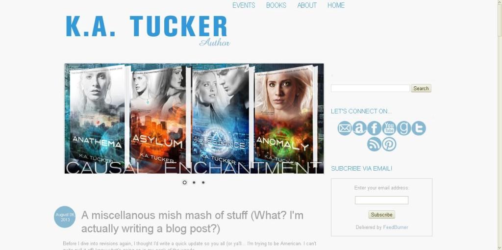 new k a tucker