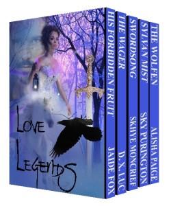 Love Legends:  A Fantasy Romance Boxed Set & Giveaway